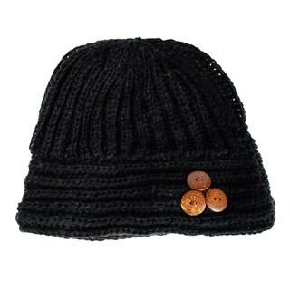 'Cute as a Button' Winter Beanie (Nepal)