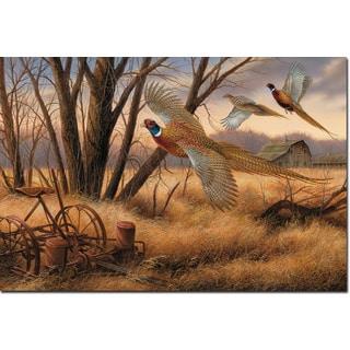 WGI Prairie Wings Wood-printed Wall Art