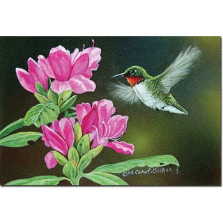 WGI 'Opening Day Hummingbird' Wood-printed Wall Art