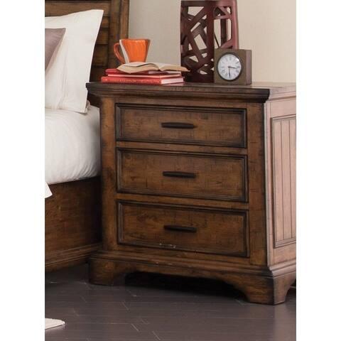 Coaster Company Brown Wood/Veneer Nightstand