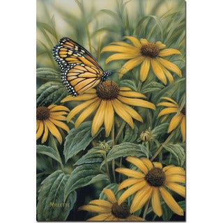 WGI Gallery 'Monarch Butterfly' Wooden Wall Art - Multi