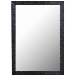 Hitchcock Butterfield Shimmering Black Pearl-framed Wall Mirror