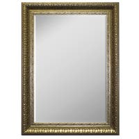 Hitchcock Butterfield Grantchester Vintage Large Silver Traditional Mirror