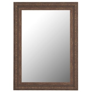 Ishtar Copper-colored Framed Mirror