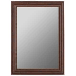 Olde Butternut Brown Plastic-framed Mirror