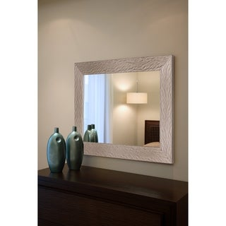Sun Set Silver Rectangular Mirror