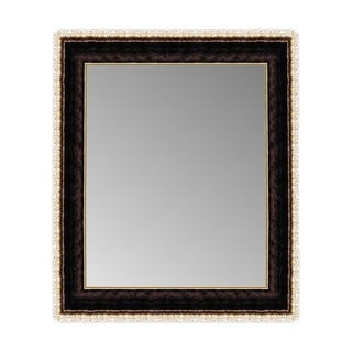 Hitchcock Butterfield Roman Copper Gold Scrolled Plastic Wall Mirror