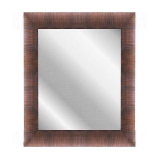 Hitchcock Butterfield Highland Scottish Copper Plastic Wall Mirror