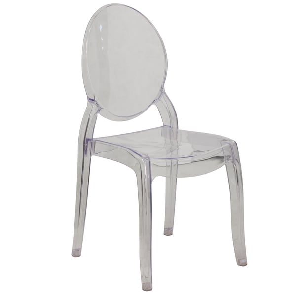 Lovely Large Transparent Ghost Chair