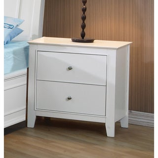 Coaster Company Selena Collection White MDF/Veneer Nightstand
