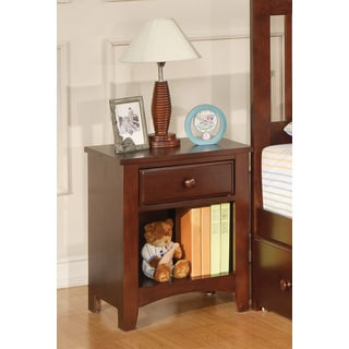 Coaster Company Cherry Pinewood Nightstand