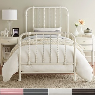 Gulliver Vintage Antique Spiral Twin Iron Metal Bed by iNSPIRE Q Bold