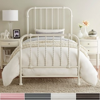 Gulliver Vintage Antique Spiral Twin Iron Metal Bed by IQ KIDS by iNSPIRE Q Bold