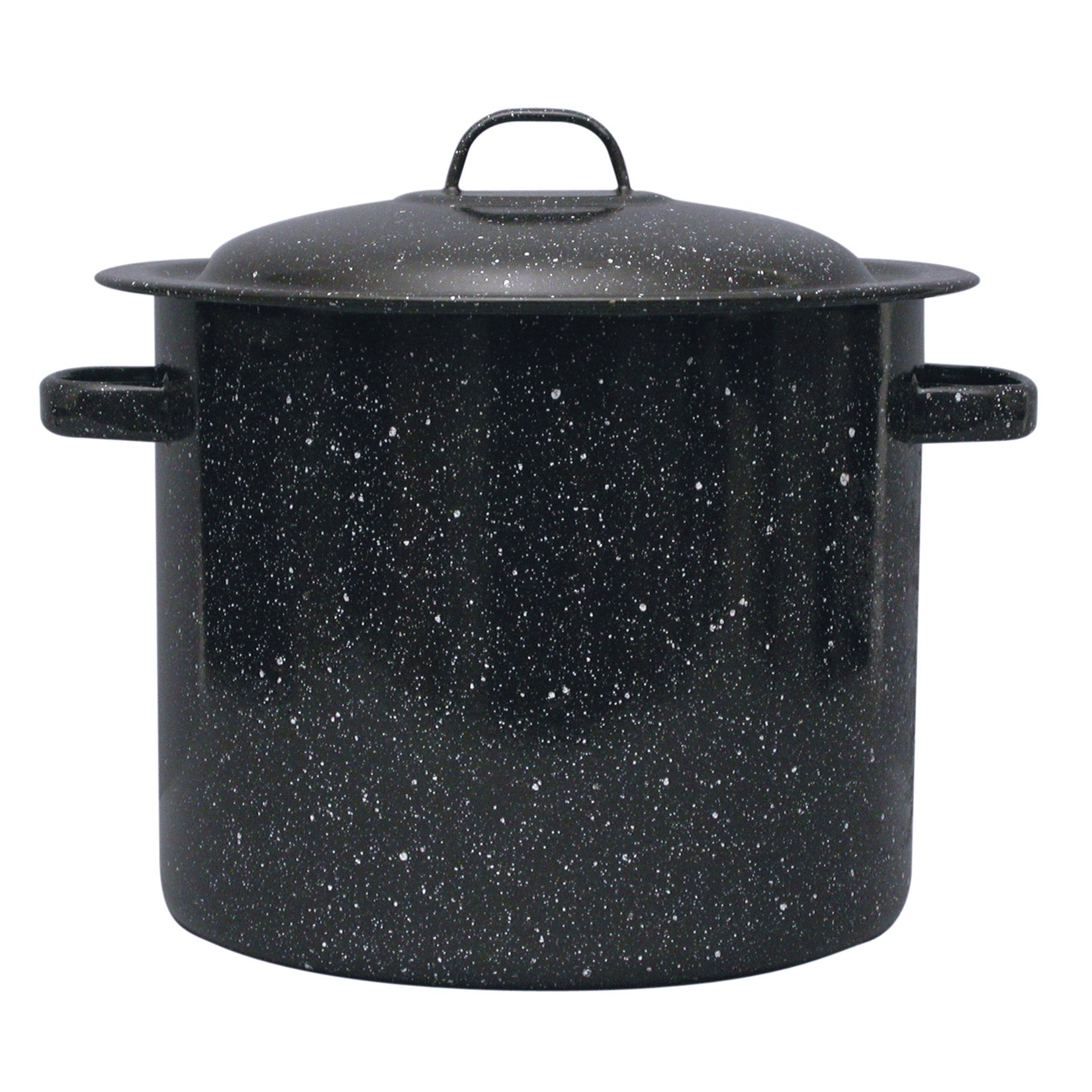 Granite Ware F6124T-1 16 Quart Black Ceramic Stock Pot (1...