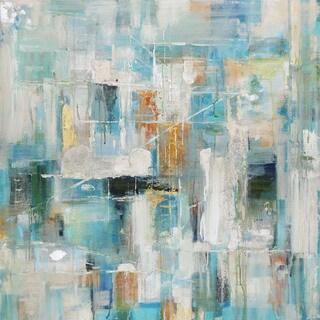 Aurelle Home Bright Abstract Modern Canvas Wall Decor