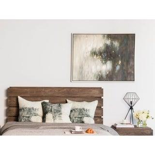 Aurelle Home Craft Dark Abstract Canvas Wall Decor - Black/Grey