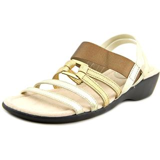 Life Stride Women's 'Taurus' Gold Fabric Sandals