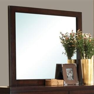 Coaster Company Cameron Brown Wood Rectangular Mirror