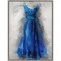 Aurelle Home BLUE DRESS WALL DECOR