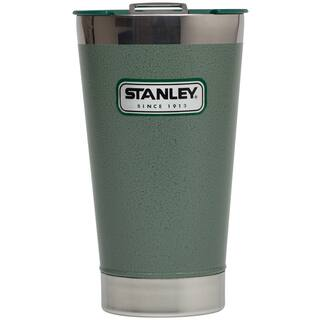 Stanley Classic Thermos 10-01704-001 16 Oz. Green Stainless Steel Pint Glass|https://ak1.ostkcdn.com/images/products/12504469/P19312286.jpg?impolicy=medium
