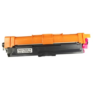 Think Crucial Brother TN221 and TN225 Magenta Toner Replacement Ink Cartridge
