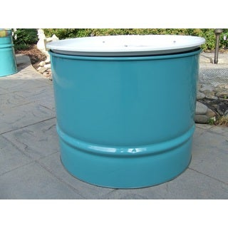 Turquoise/White Table