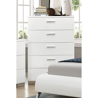 Coaster Company Felecity White 5-drawer Chest