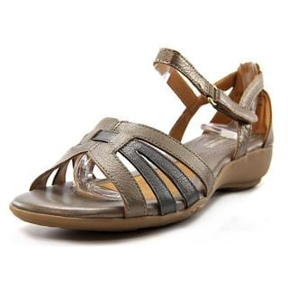 Naturalizer Women's 'Caliah' Gold Leather Sandals