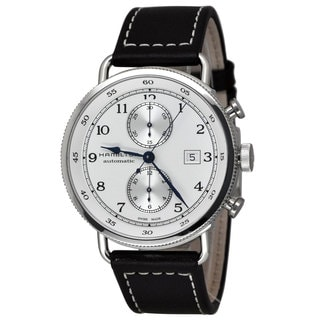 Hamilton Men's H77706553 Khaki Navy Silver Watch