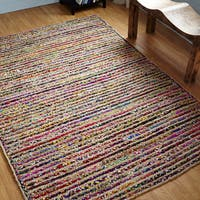 Better Trends Astoria Jute Braided Rug - Multi-color - 5' x 7'