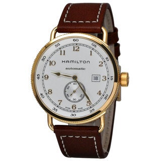 Hamilton Men's H77745553 Khaki Navy Silver Watch