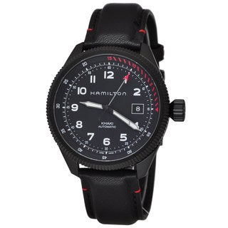 Hamilton Men's H76695733 Khaki Aviation Black Watch