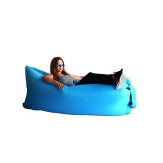 Zephyr Blue Inflatable Air Bag Parachute Couch