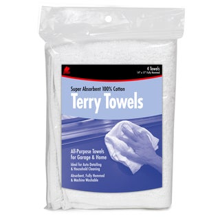 Buffalo 60225 4-count All-Purpose Towels For Garage & Home