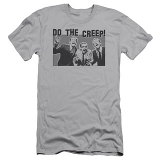 SNL/Do The Creep Short Sleeve Adult T-Shirt 30/1 in Silver