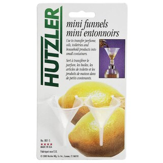 Hutzler 801-S Polypropylene Mini Funnel Pack 2-count