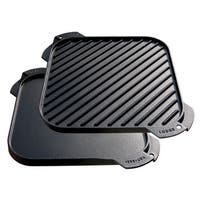 Lodge LSRG3 Single Burner Cast Iron Reversible Griddle