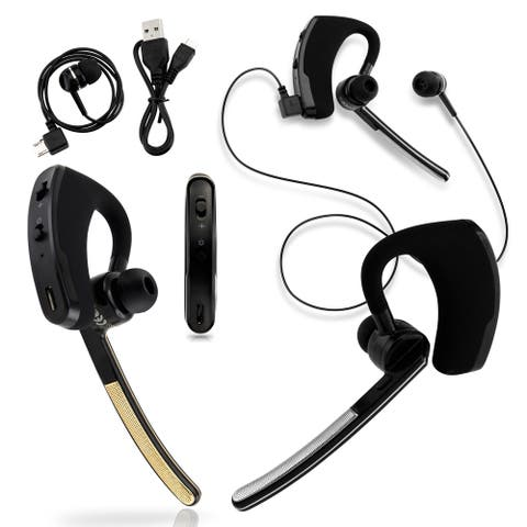 Gearonic Universal Bluetooth Stereo Wireless Headset Handfree Earphone