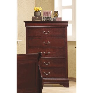 Coaster Company Home Furnishings Traditional Chest, Cherry