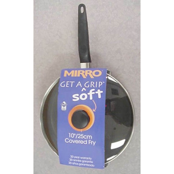 "Mirro A7979784 Get A Grip 10"" Covered Fry Pan (Fry Pan 10..."