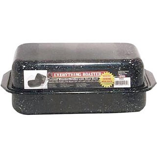 Granite Ware 0535-4 3 Piece Everything Roaster With Rack