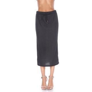 Stanzino Women's Elastic-waist Midi Skirt