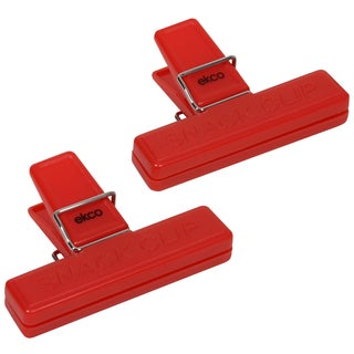 Ekco 1094976 2 Piece Red Bag Clip Set
