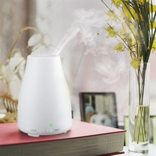 Cool Mist Ultrasonic 6-hour Humidifier/Air Purifier With Night Light