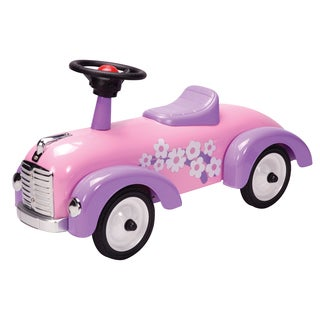 Schylling Pink Metal Speedster Ride-On