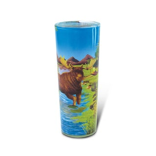 Puzzled Full Shooter Moose Shot Glass