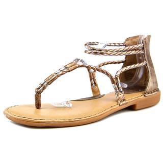 B.O.C. Women's Sedge Goldtone Faux Leather Sandals
