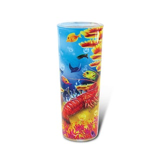 Puzzled Full Shooter Lobster Shot Glass
