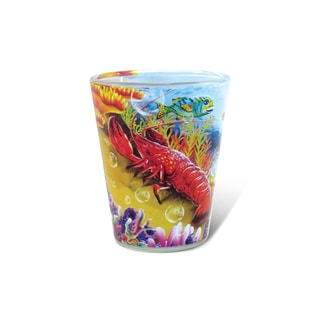 Puzzled Full Lobster Shot Glass