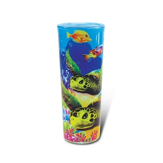 Puzzled Full Shooter Sea Turtle Shot Glass